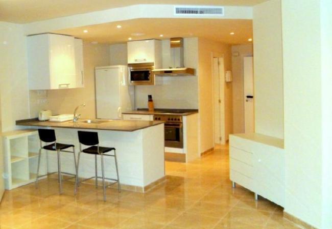 Apartamento en Valencia - Jardines de Viveros Estudio - 3 PAX